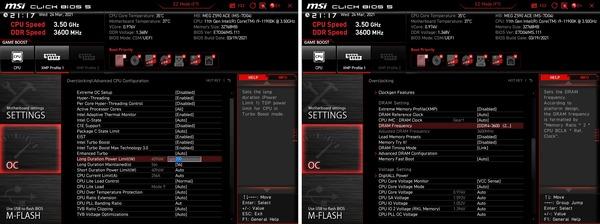 Core i9 11900K_PL1-200W_Mem3600-C16