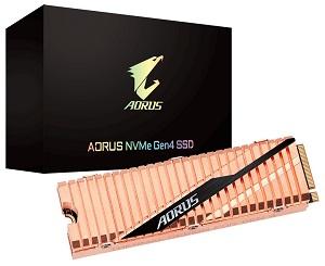 GIGABYTE AORUS NVMe Gen4 PCIe M.2 SSD