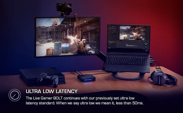 AverMedia Live Gamer BOLT_Ultra-Low-Latency