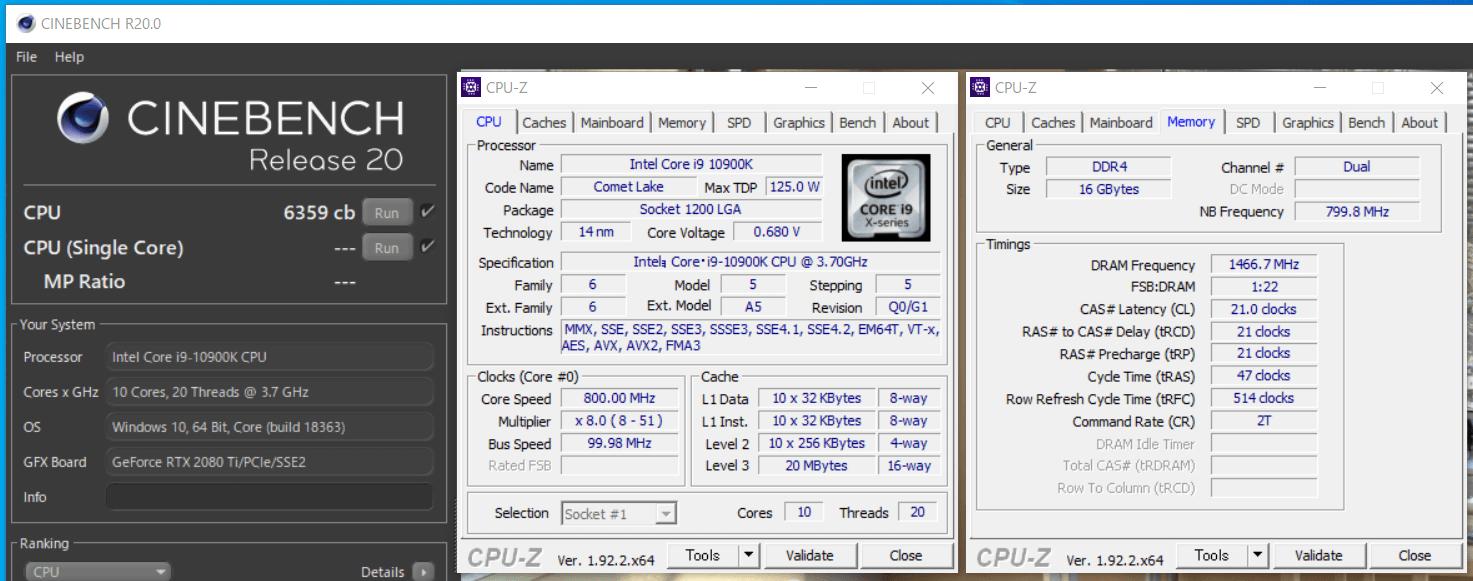 G-Master Hydro Z490_Core i9 10900K_cinebench-rR20