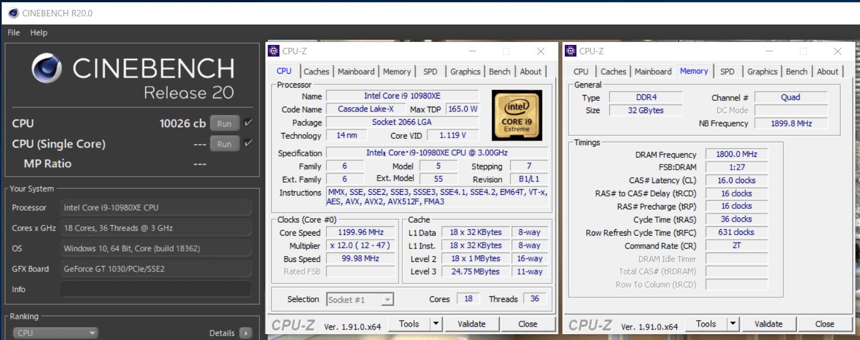 ASRock X299 Taichi CLX_OC-test_Cinebench R20