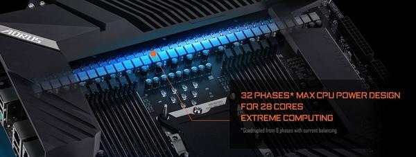 GIGABYTE C621 AORUS XTREME_VRM-32Phase