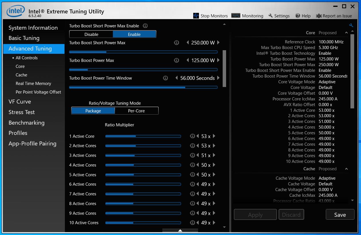 G-Master Hydro Z490_Core i9 10900K_PowerLimit