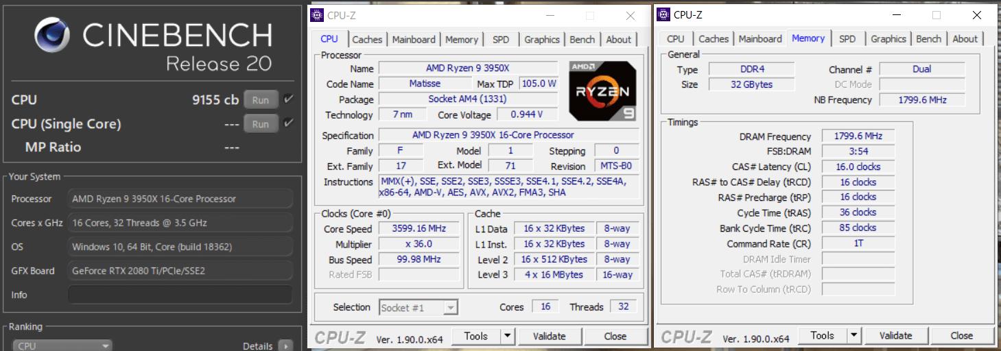 AMD Ryzen 9 3950X_cinebench-R20