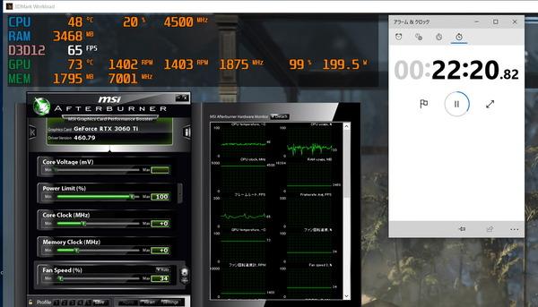 Palit GeForce RTX 3060 Ti Dual_stress_1400RPM