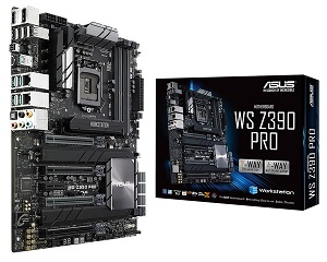 ASUS WS Z390 PRO ATXマザーボード