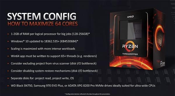 AMD Ryzen Threadripper 3990X_howtouse