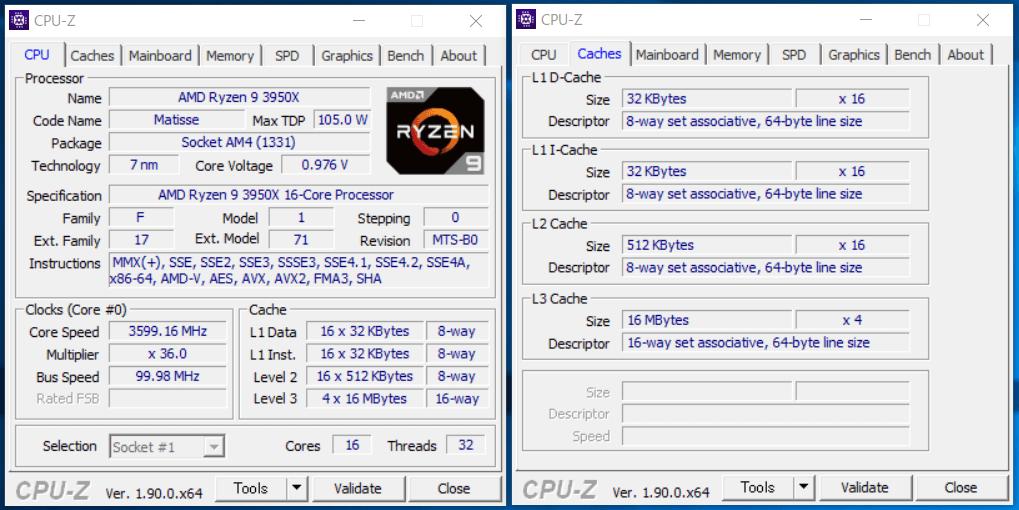 AMD Ryzen 9 3950X_CPU-Z