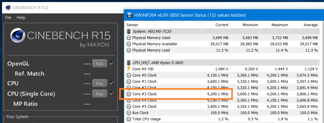 AMD Ryzen 5 3600_Core-Clock_Boost_Single