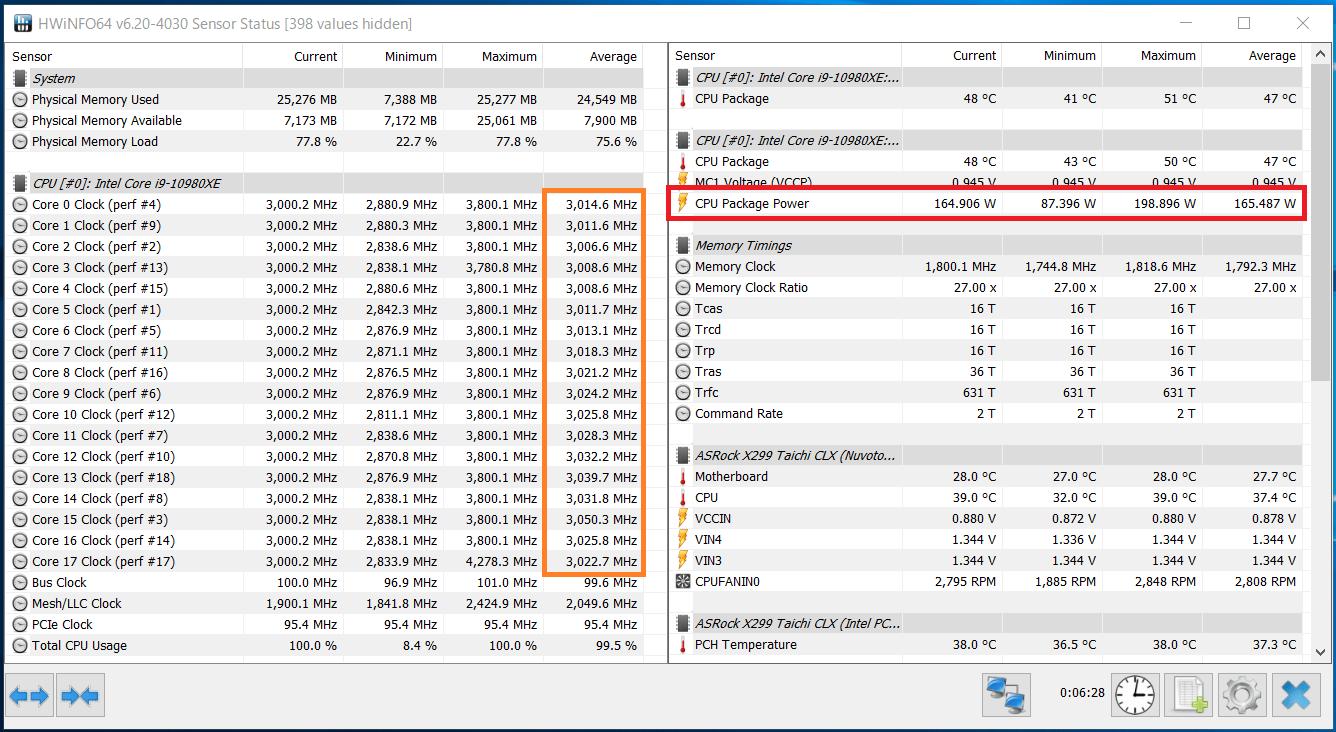 Intel Core i9 10980XE_Core-Clock_Boost_multi_long