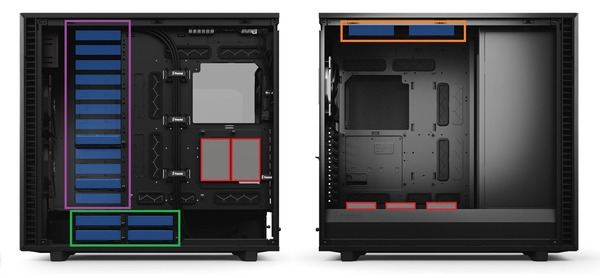 Fractal Design Define 7 XL_strage-layout