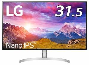 LG 32UL950-W (4K/HDR対応/IPS非光沢/HDMI、DP、TB3×2)