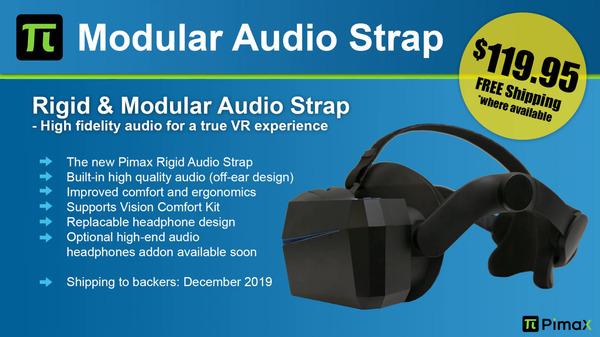 Pimax Modular Audio Strap