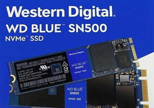 WD Blue SN500 NVMe M.2 SSD 500GB