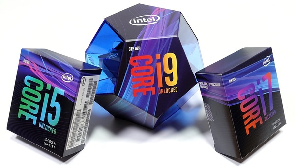 Intel 9th Gen Core CoffeeLake Refresh