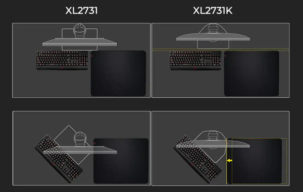 ZOWIE XL2731K_base