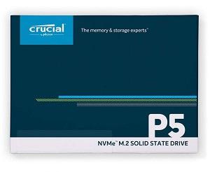 Crucial P5 NVMe M.2 SSD 1TB