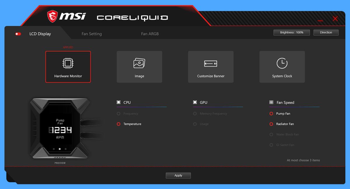 MSI CoreLiquid APP