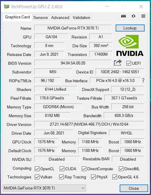 MSI GeForce RTX 3070 Ti SUPRIM X 8G_GPU-Z_Silent (1)