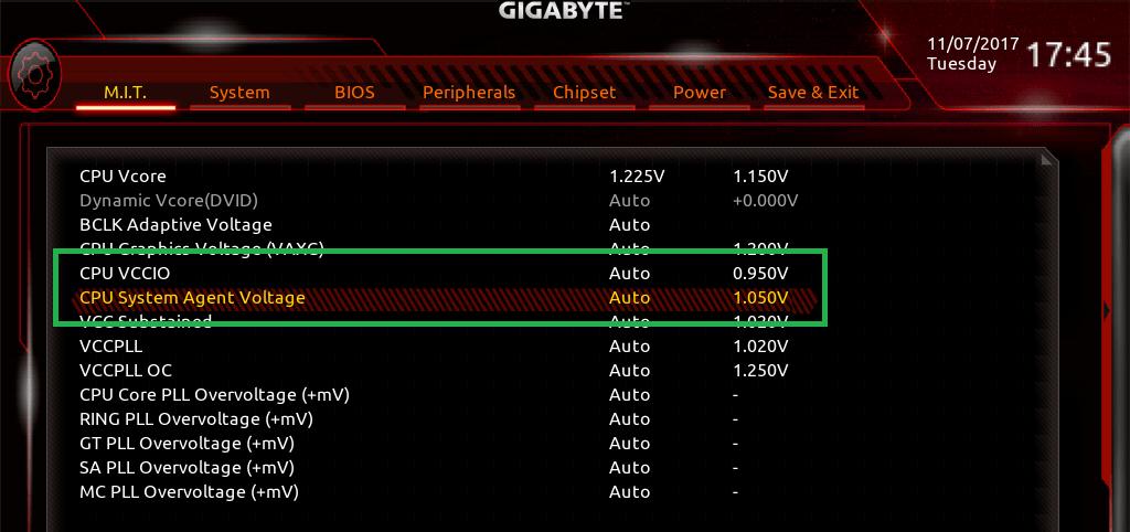 GIGABYTE Z370 AORUS Gaming 7_BIOS_OC_15