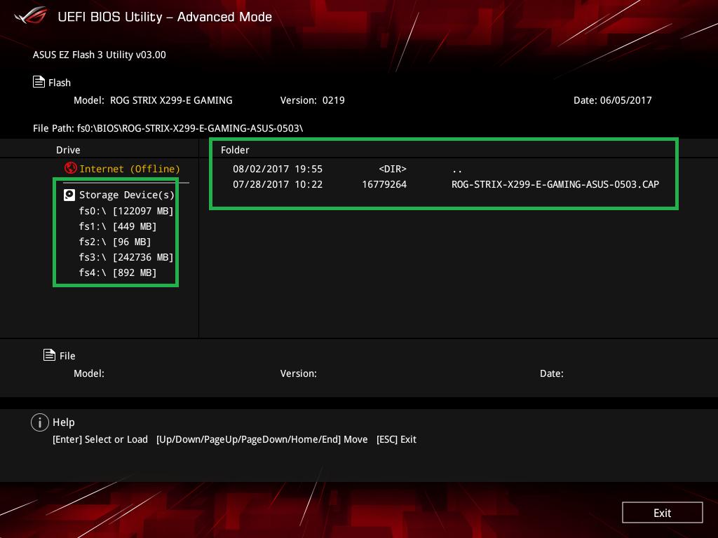 ASUS ROG CROSSHAIR VII HERO (Wi-Fi)_BIOS_9