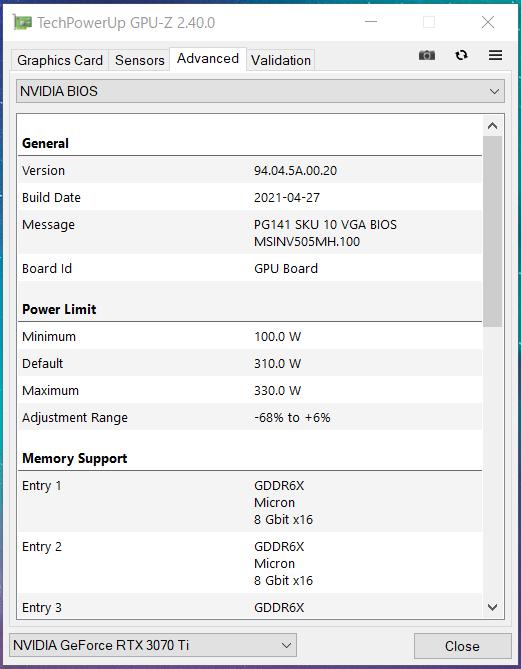 MSI GeForce RTX 3070 Ti SUPRIM X 8G_GPU-Z_Silent (3)
