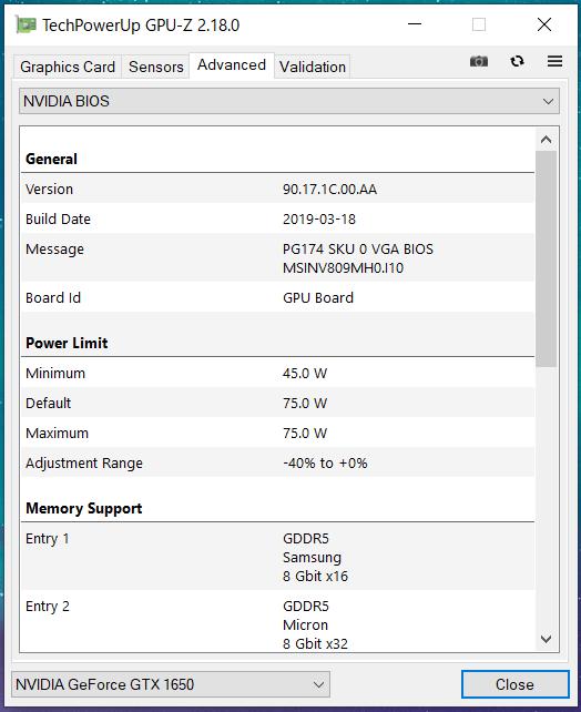 MSI GeForce GTX 1650 AERO ITX 4G OC_GPU-Z (3)