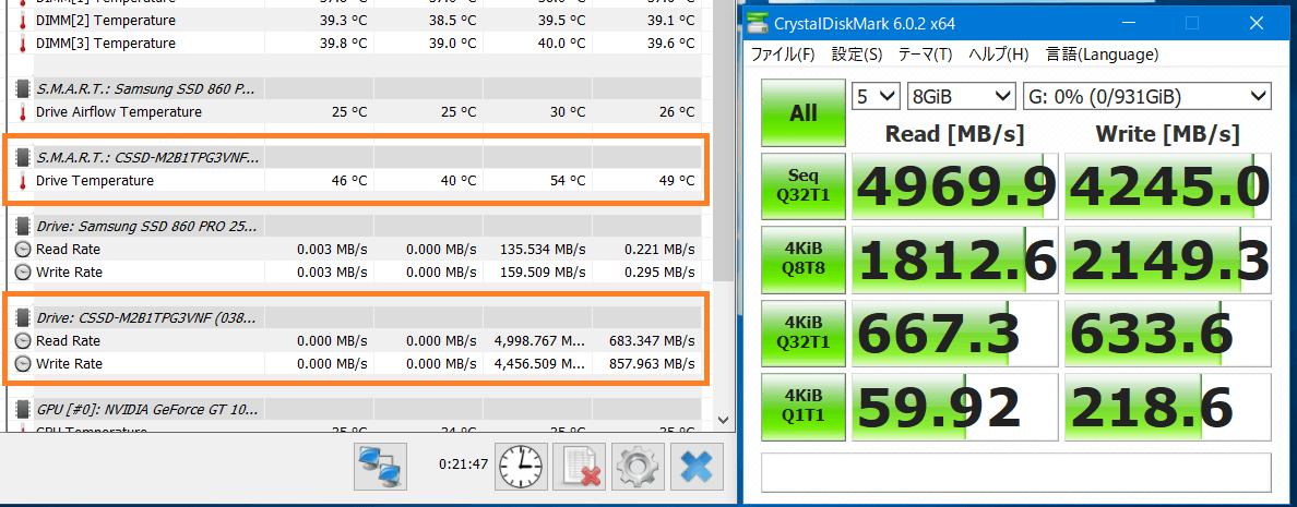 PCIE4.0x4-NVMe M.2 SSD_Temp-test