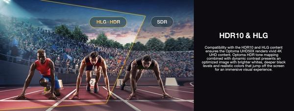 Optoma UHD50X_HDR