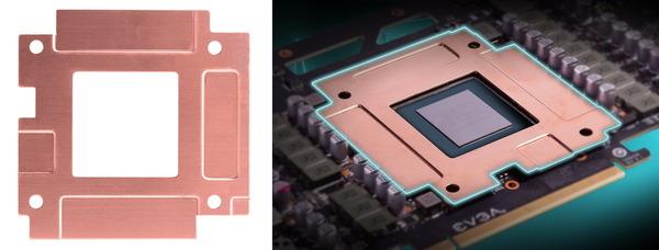 EVGA RTX 30 Hybrid_copper-plate