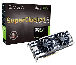 EVGA GeForce GTX 1070 SC2 GAMING iCX (08G-P4-6573-KR)
