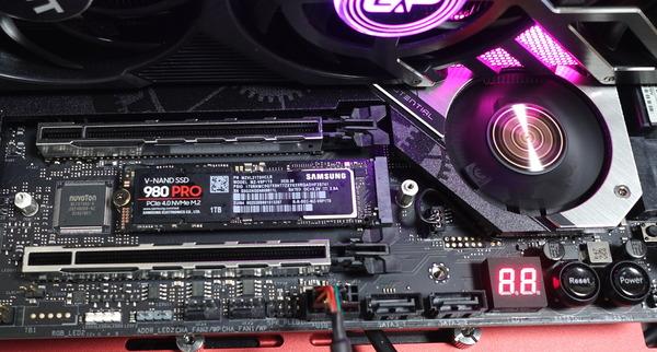 NVMe SSD_temp test_980PRO