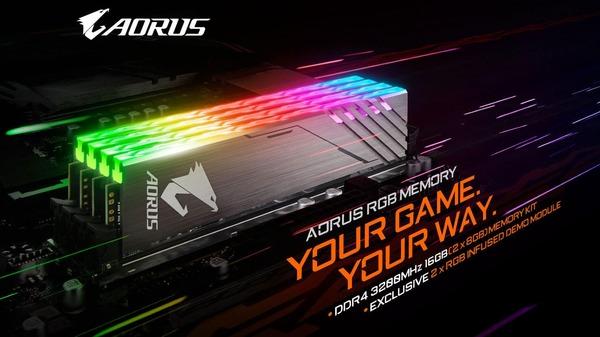 GIGABYTE AORUS RGB Memory (1)