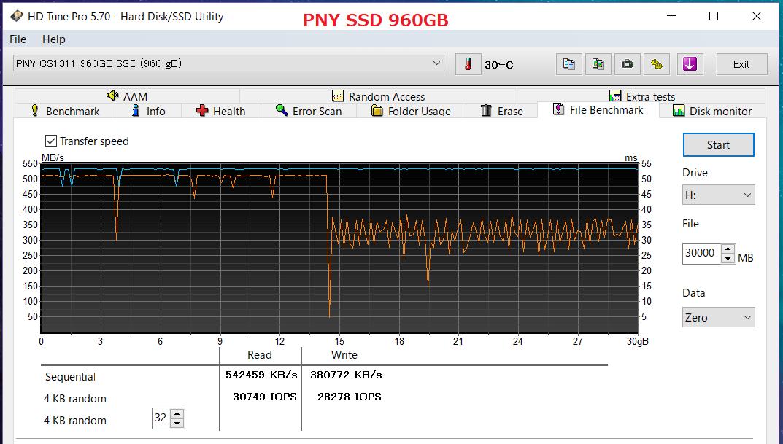 PNY SSD 960GB_HDTP