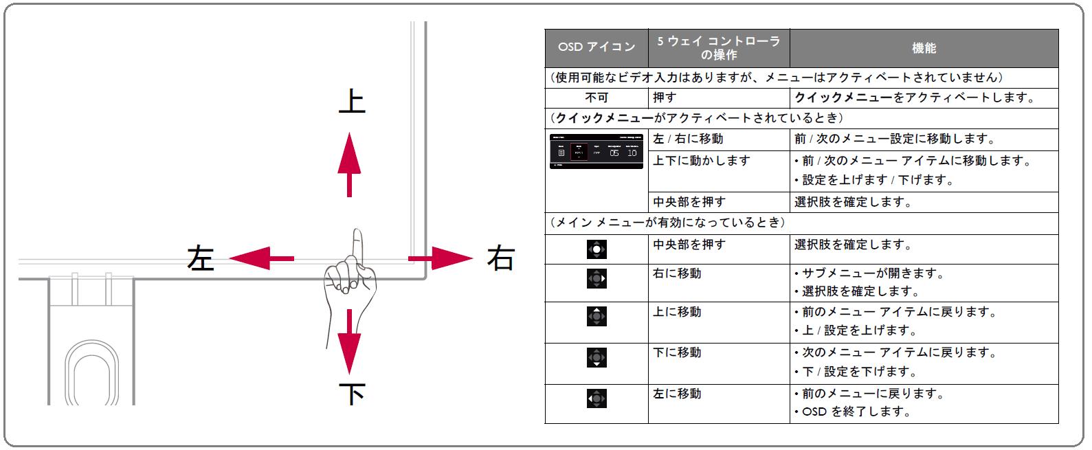 ZOWIE XL2731K_OSD_control_2