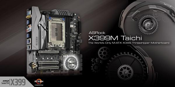 ASRock X399M Taichi