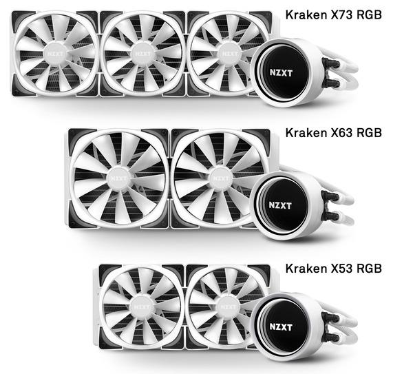 NZXT Kraken X-3 RGB White