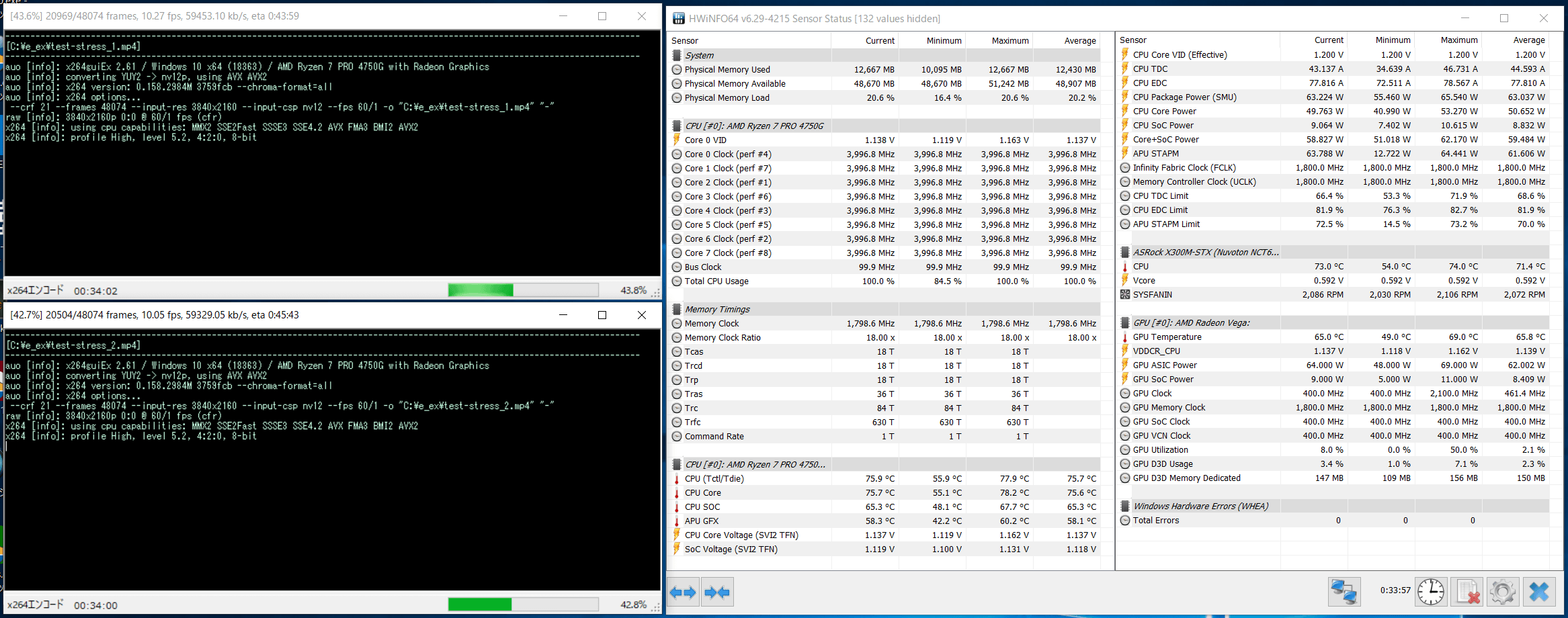 ASRock DeskMini X300_CPU-Z_Ryzen 7 PRO 4750G_temp-stress