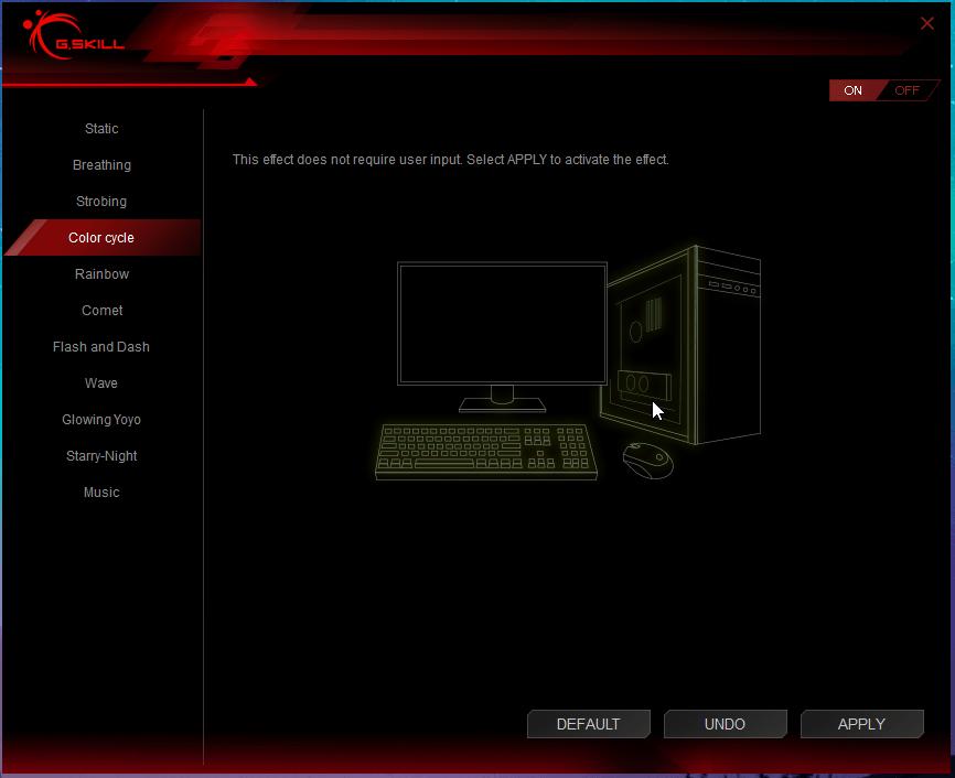 Trident Z RGB Control