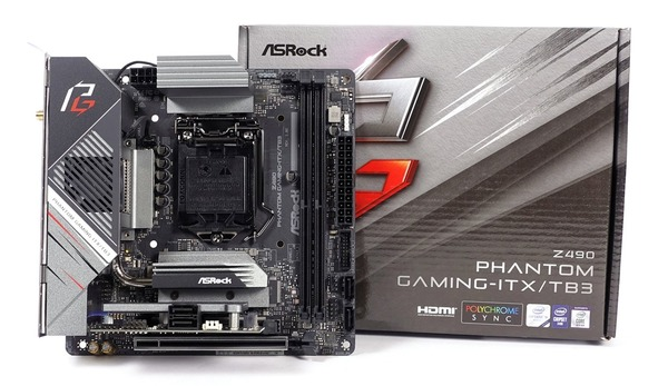ASRock Z490 Phantom Gaming ITX_TB3