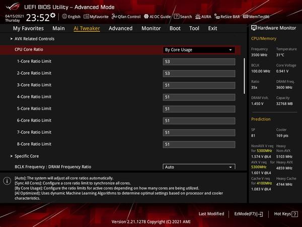 ASUS ROG STRIX Z590-I GAMING WIFI_OC Test_BIOS (1)