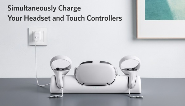 Anker Charging Dock for Oculus Quest 2_top