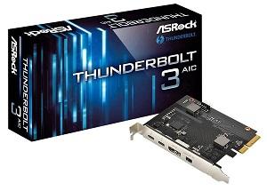 ASRock 拡張インターフェースボード Thunderbolt 3 AIC