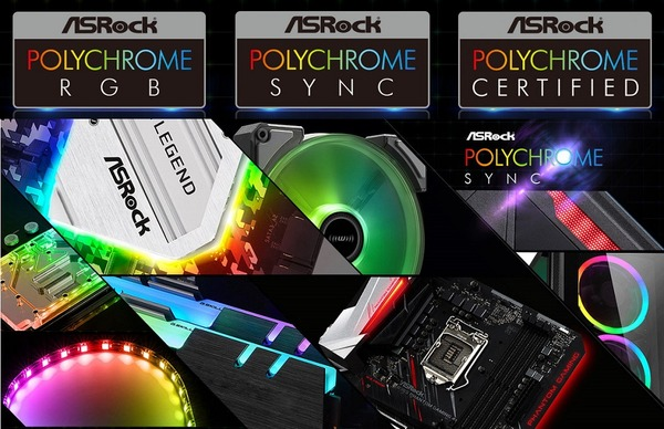 ASRock Polychrome RGB Sync