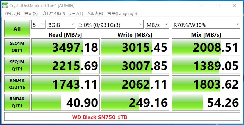 WD Black SN750 1TB_CDM7