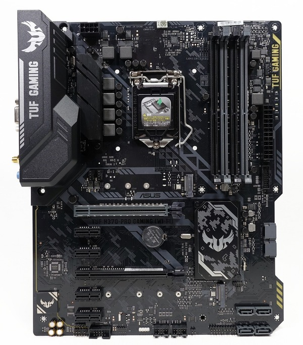 3a1d04a43a ASUS TUF H370-PRO GAMING (WI-FI)」をレビュー。1万円台の安価 ...