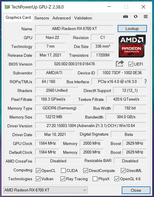 Radeon RX 6700 XT Reference_GPU-Z (1)