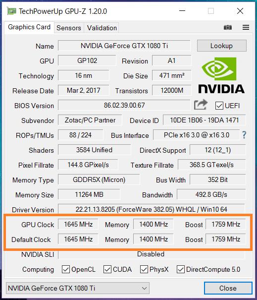 GTX 1080 Ti ref