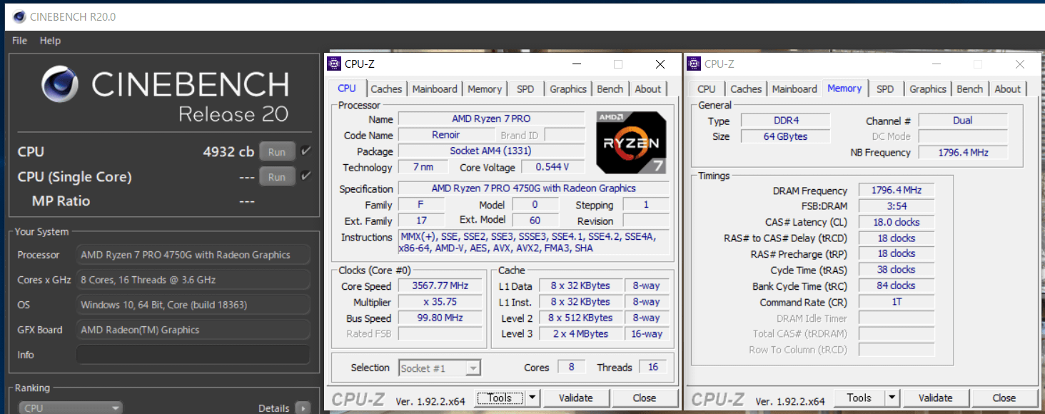 ASRock DeskMini X300_Ryzen 7 PRO 4750G_def_Cinebench R20