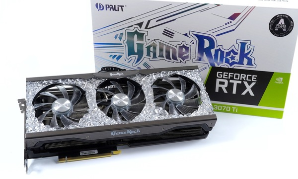 Palit GeForce RTX 3070 Ti GameRock OC
